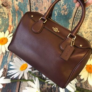 CROSSGRAIN LEATHER COACH F36624